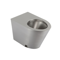 Stainless Steel Toilet Pan (Without A Toilet Cover)