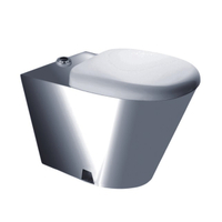 Easy And Simple To Handle Industrial Toilets