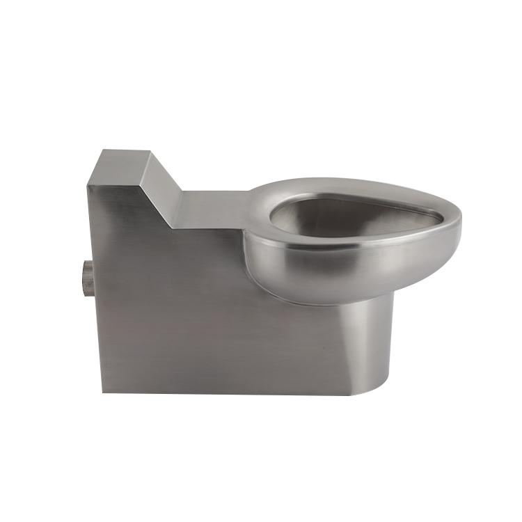Water Saving Stainless Steel Prison Toilet Seat China