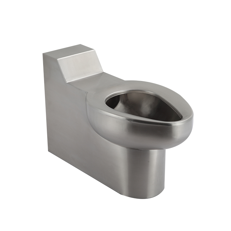 Water Saving Stainless Steel Prison Toilet