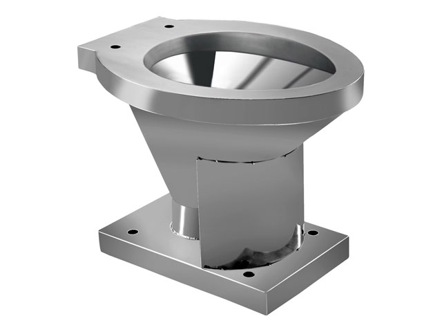 New Products Fashionable Cheap Stainless Steel Toilet Bowl