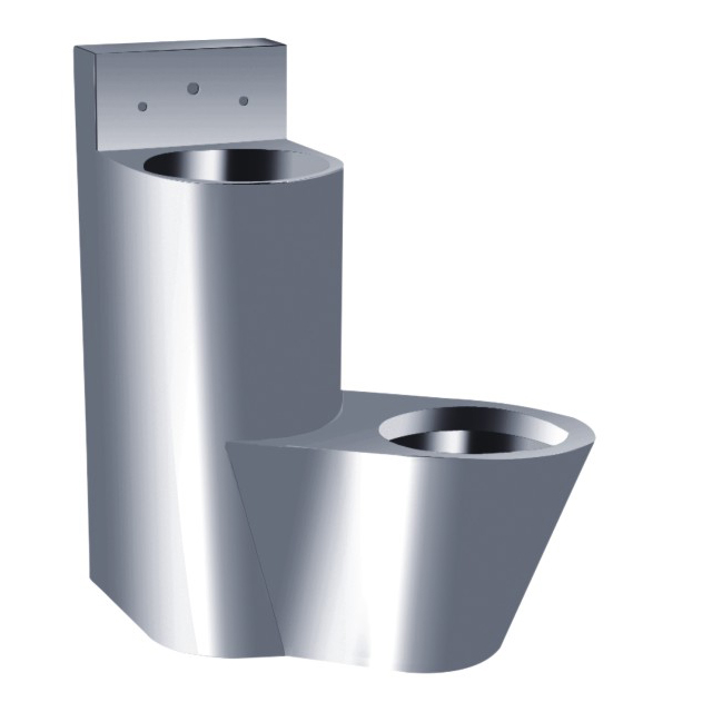 New and Luxury Good Quality Toilet Basin Combination