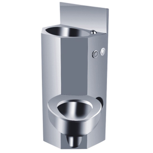 High Quality Stainless Steel Prison Toilet Combination